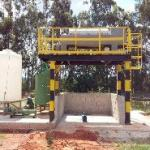 Sistema de desidratação de lodo